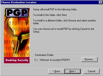 Install PGP