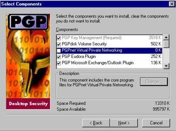 pgp freeware version 6.5.8